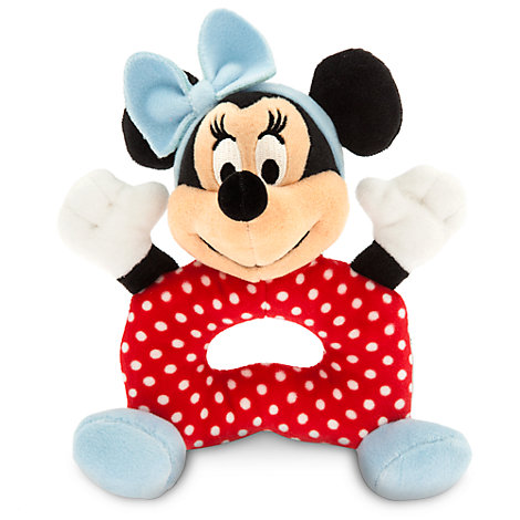 Minnie Mouse Baby Rattle