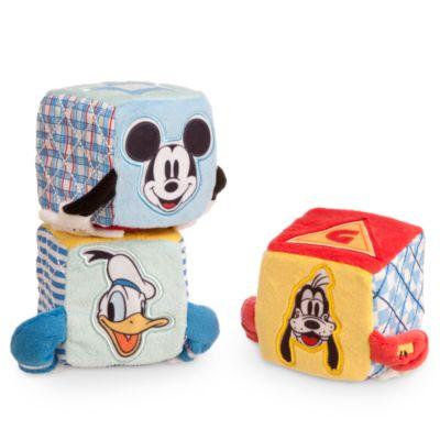 Topolino, 3 cubi morbidi baby