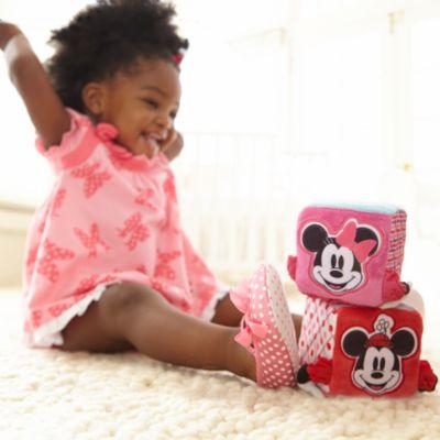 Bloques blandos de Minnie para bebé, set de 3