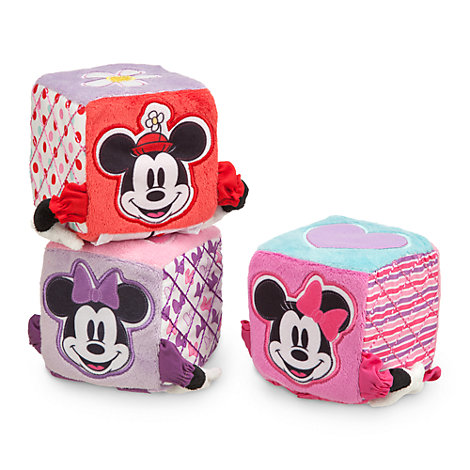 Minnie Mouse Baby Soft Blocks, Set of 3