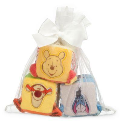 Bloques blandos de Winnie the Pooh para bebé, set de 3