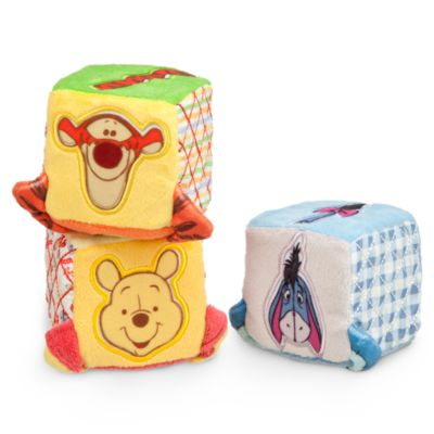 Ensemble de 3 cubes en peluche Winnie l'Ourson