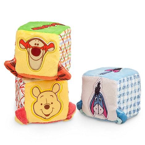 Winnie the Pooh Baby Soft Blocks, Set of 3