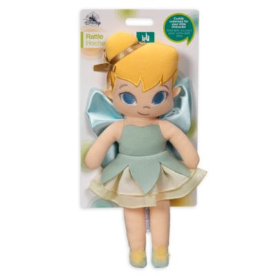 Tinker Bell Soft Toy Baby Rattle