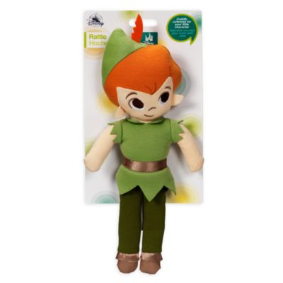 Peter Pan Soft Toy Baby Rattle