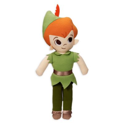 Peluche sonajero de Peter Pan para bebé