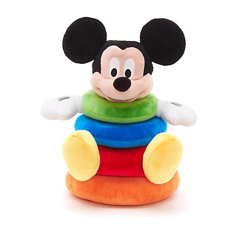 Anillos apilables de peluche de Mickey Mouse para bebé