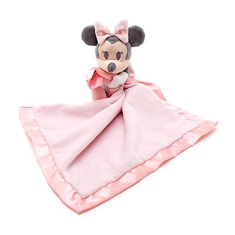 Minnie Maus - Schmusetuch mit Kuscheltier