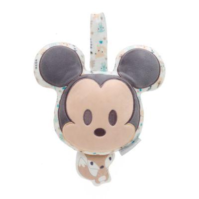 Peluche musicale à tirer bébé Mickey Mouse
