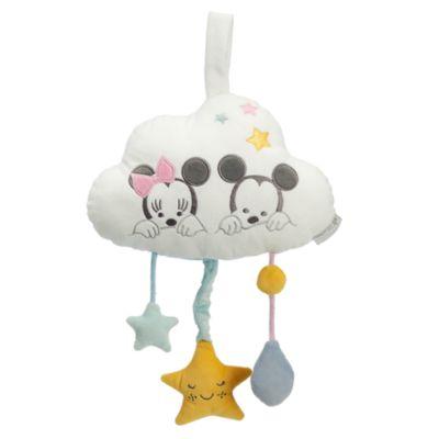 Jouet musical à tirer Mickey et Minnie Mouse pour bébé