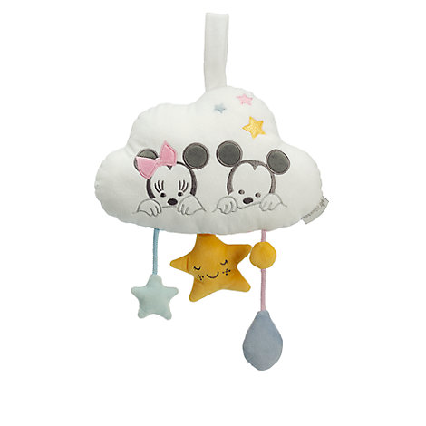 Mickey and Minnie Mouse Musical Baby Pull