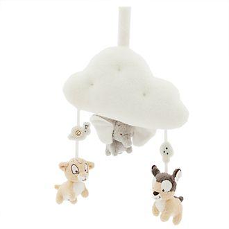 Jouet musical à tirer Dumbo, Bambi et Simba pour bébé, Disney Store