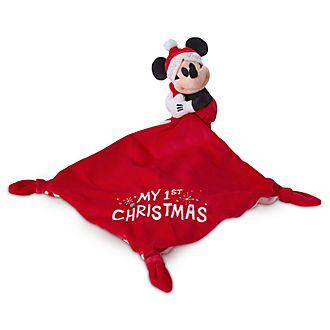 Disney Store - Share the Magic - Micky Maus - Schmusetuch mit Kuscheltier