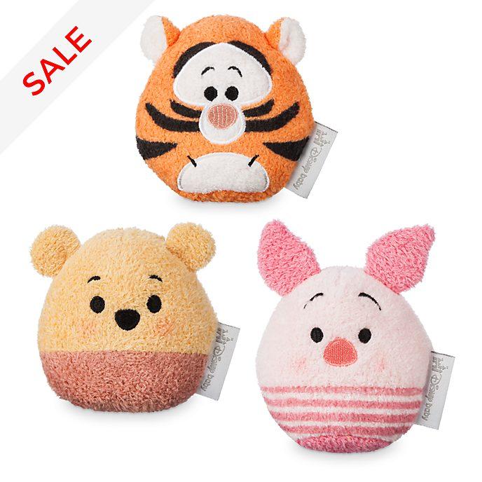 Disney Store Winnie The Pooh Baby Rattle Set
