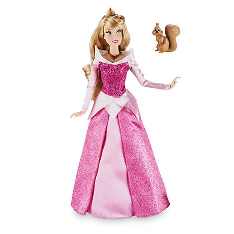 Klassisk Tornerose dukke