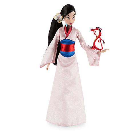 Klassisk Mulan dukke