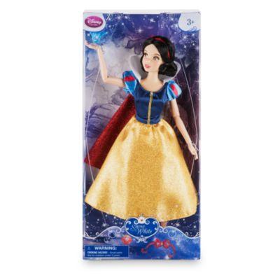 Snövit klassisk docka