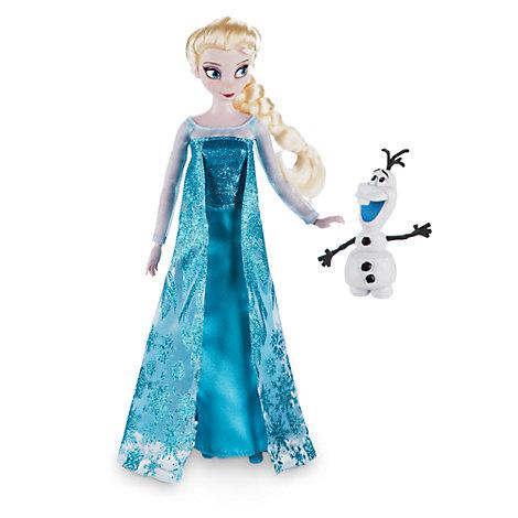 Klassisk Elsa dukke