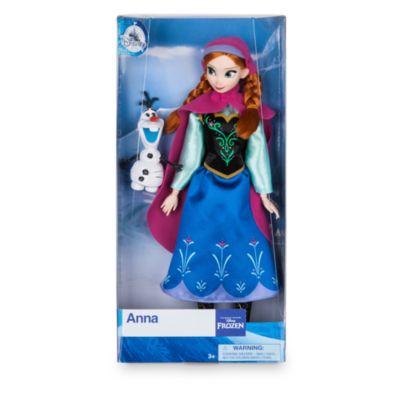 Bambola classica Anna, Frozen - Il Regno di Ghiaccio