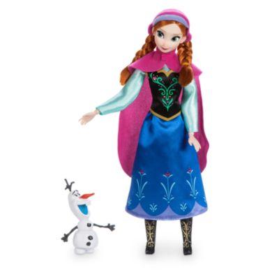 Die Eiskönigin - völlig unverfroren - Klassische Anna Puppe