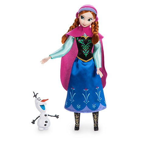 Poupée classique Anna, La Reine des Neiges