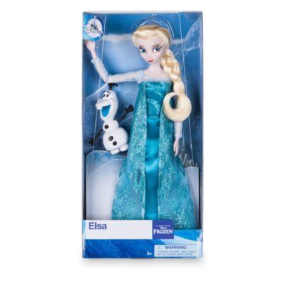 Bambola classica Elsa, Frozen - Il Regno di Ghiaccio