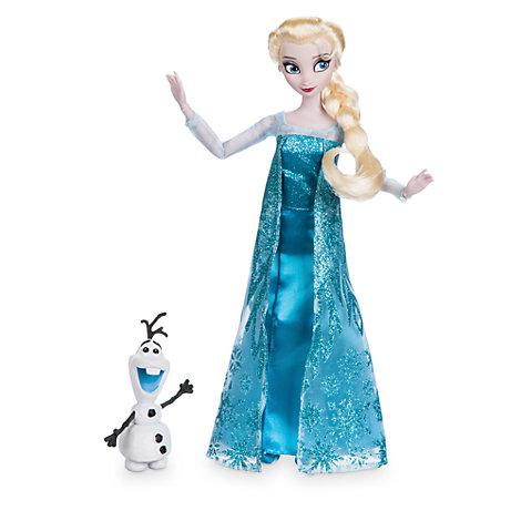 Die Eiskönigin - völlig unverfroren - Klassische Elsa Puppe