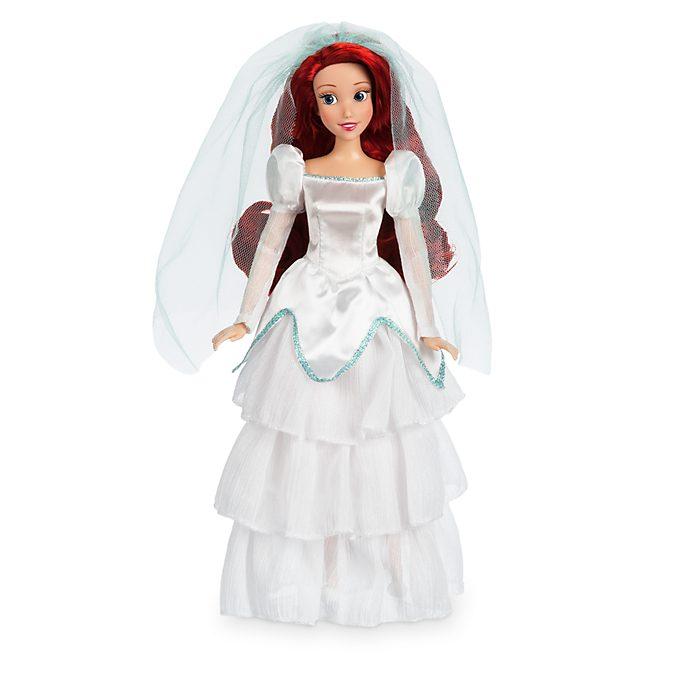 Poupée Ariel en tenue de mariage, La Petite Sirène