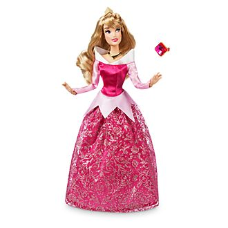 04c3e189f0d Muñeca clásica Aurora Disney Store, La Bella Durmiente