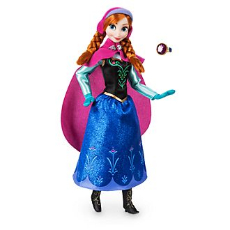 Bambola classica Anna Frozen - Il Regno di Ghiaccio Disney Store 664321f73ad