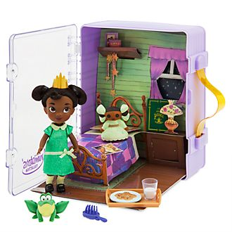 Set da gioco con mini bambola collezione Disney Animators Tiana Disney Store