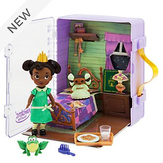 Disney Store Tiana Mini Doll Playset, Disney Animators' Collection