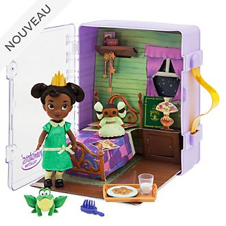 Disney Store Coffret poupée Tiana, collection Disney Animators