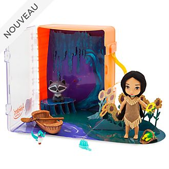Disney Store Coffret poupée Pocahontas, collection Disney Animators