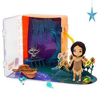 Set juego minimuñeca Pocahontas, colección Disney Animators, Disney Store