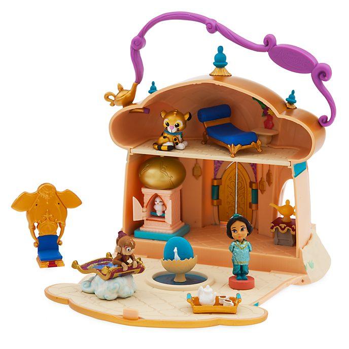 Disney Store Princess Jasmine Micro Playset, Disney Animators' Collection Littles