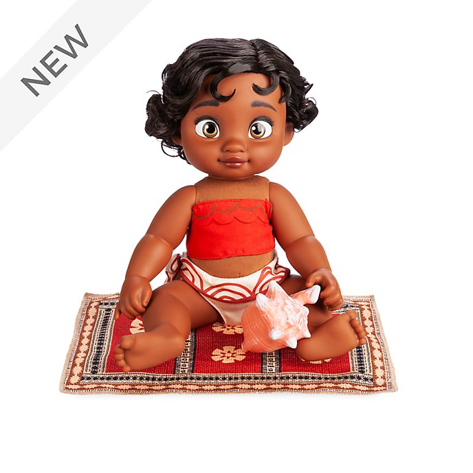 Disney Store Moana Baby Doll, Disney Animators' Collection