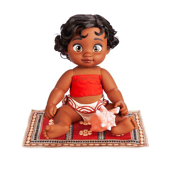 Disney Store Poupée Vaiana bébé, collection Disney Animators