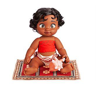 Muñeca Vaiana bebé, colección Disney Animators, Disney Store
