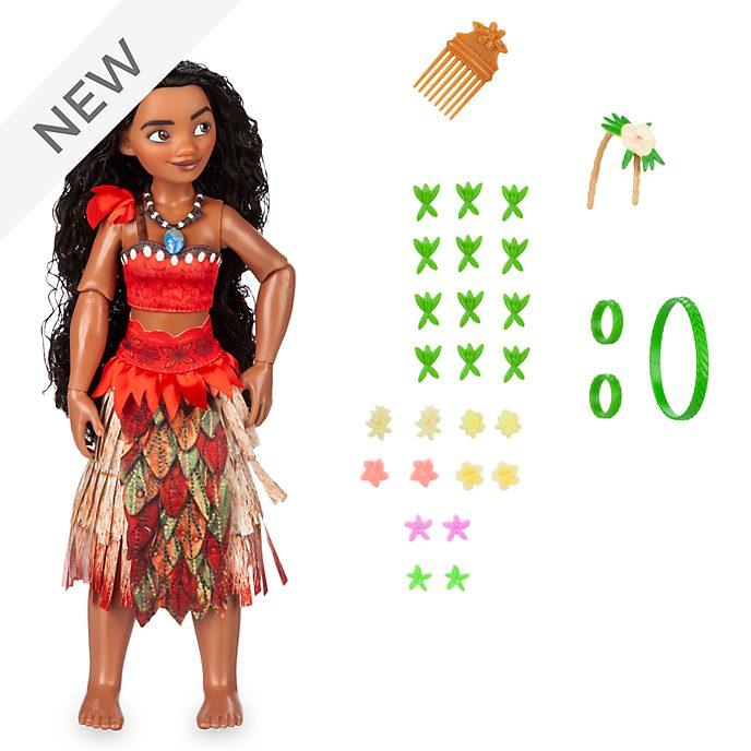 Disney Store Moana Hair Play Doll