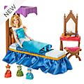 Disney Store Princess Aurora Bedroom Playset, Sleeping Beauty
