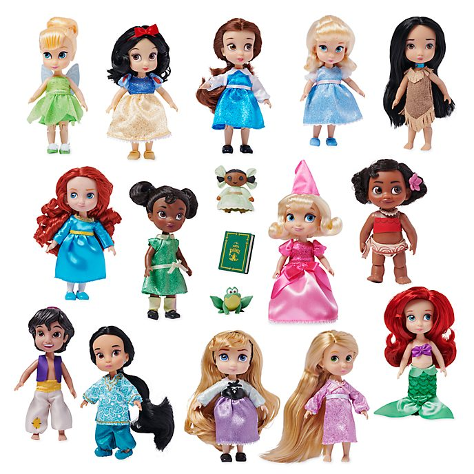 Disney Store Disney Animators' Collection Dolls, Set of 14