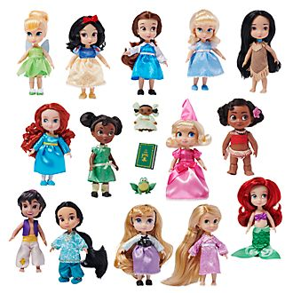 Disney Store - Puppen aus der Disney Animators Collection - 17-teiliges Set