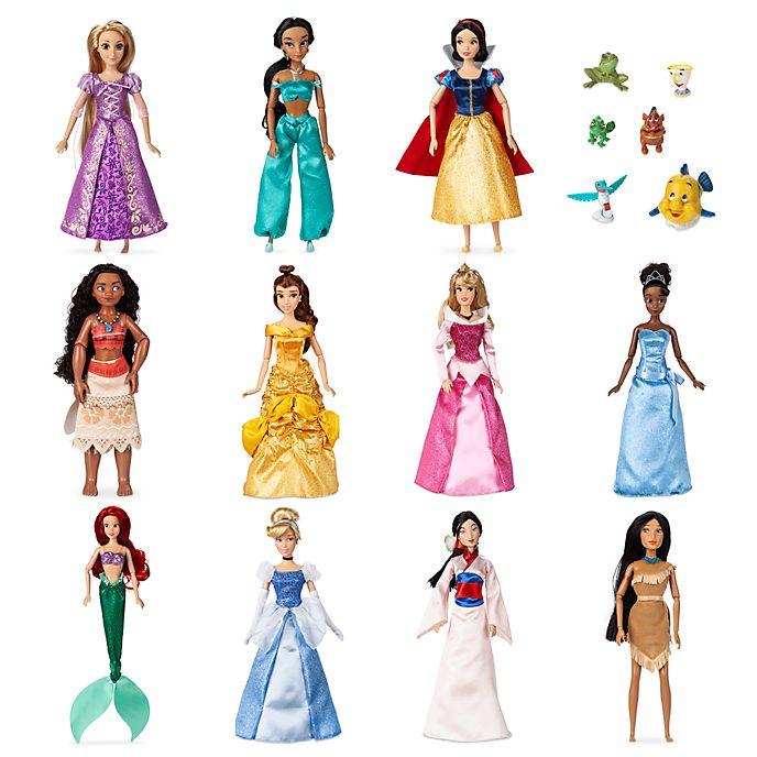 Disney Store - Disney Prinzessin Puppen - 11-teiliges Set