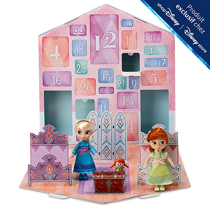 Disney Store Calendrier de l'Avent La Reine des Neiges2