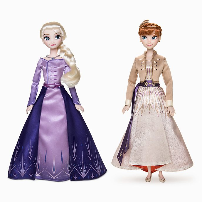 Disney Store Anna and Elsa Doll Set, Frozen 2