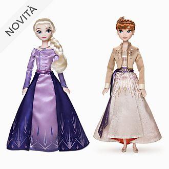 Set di bambole Anna ed Elsa Frozen 2: Il Segreto di Arendelle Disney Store