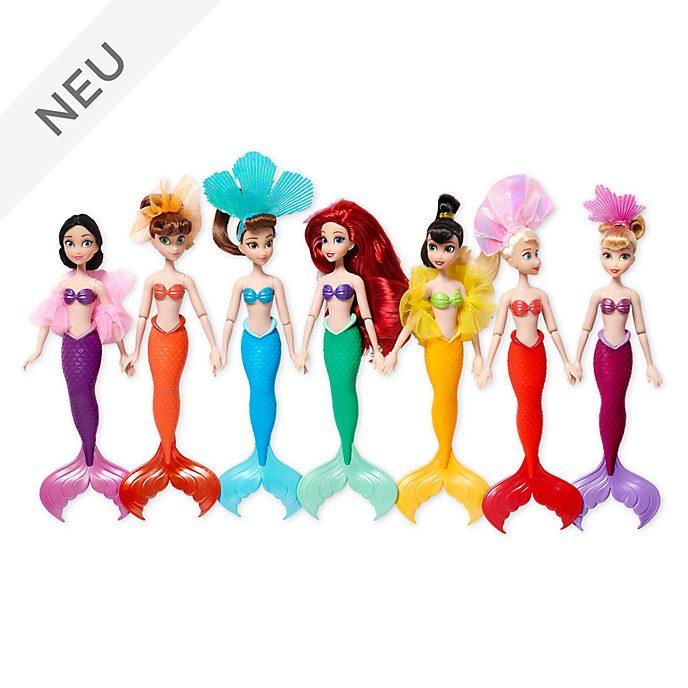 Disney Store - Arielle und ihre Schwestern - Puppen, 7-teiliges Set