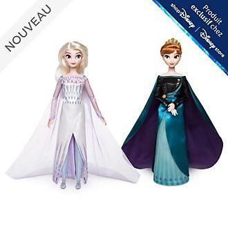 Disney Store Poupées Reine Anna et Elsa la Reine des neiges, La Reine des Neiges2