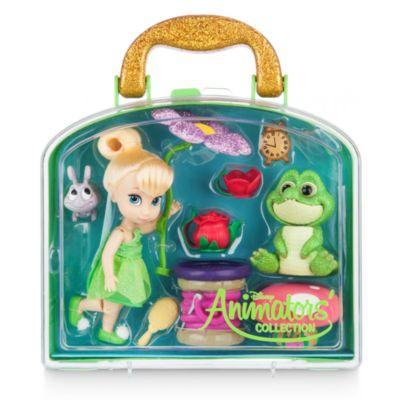 Ensemble de jeu avec petite poupée Animator Fée Clochette
